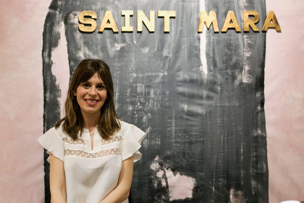 Inauguración de la tienda Saint Mara de Zaragoza.