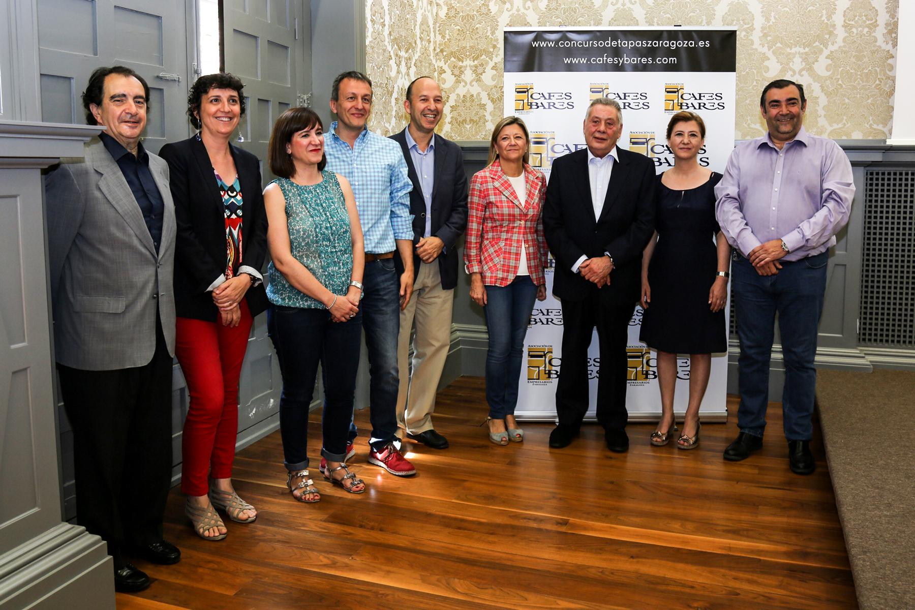 Presentación del Concurso de Tapas de Zaragoza
