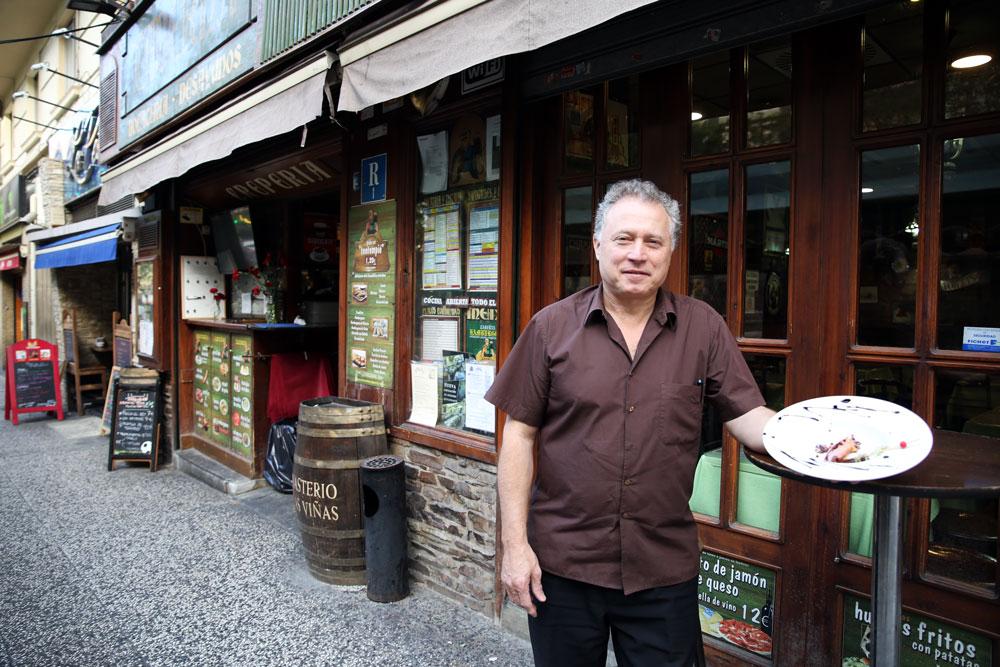 El restaurante Hamburgos, en el paseo de Sagasta